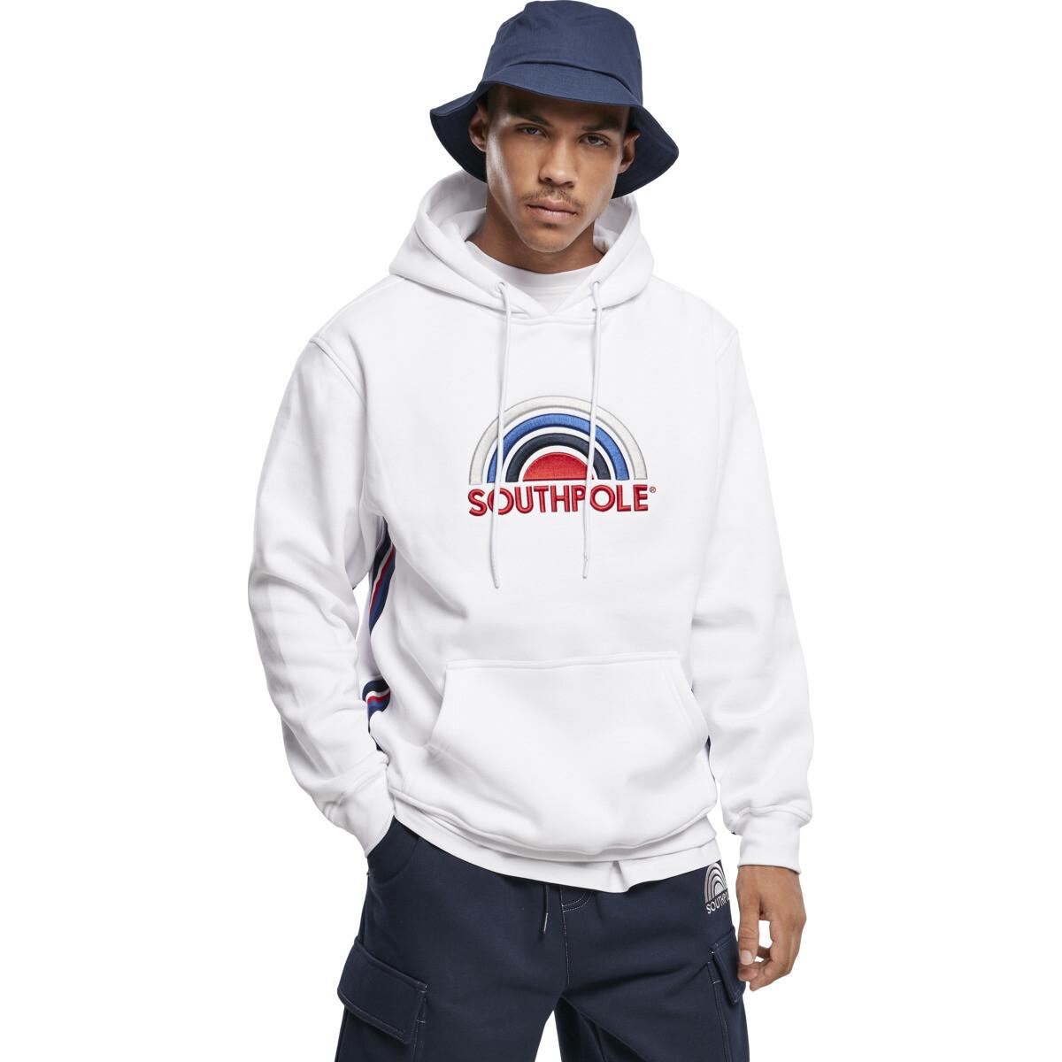 Southpole Multi Color Logo Hoody