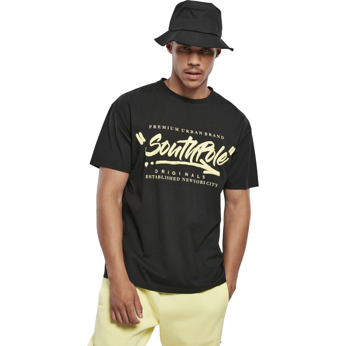 Southpole Short Sleeve Tee - Schwarz
