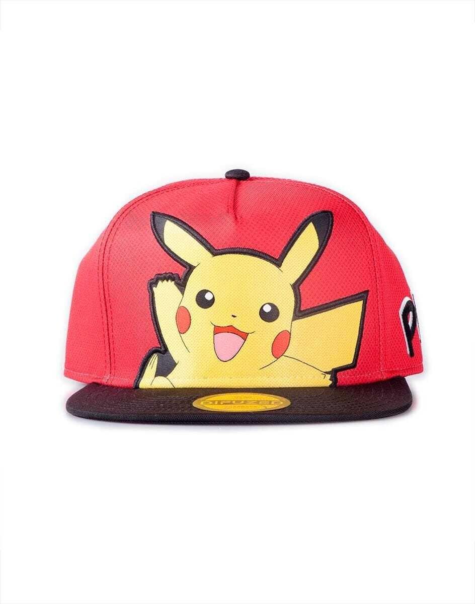Pokémon - Pikachu PopArt Snapback Cap