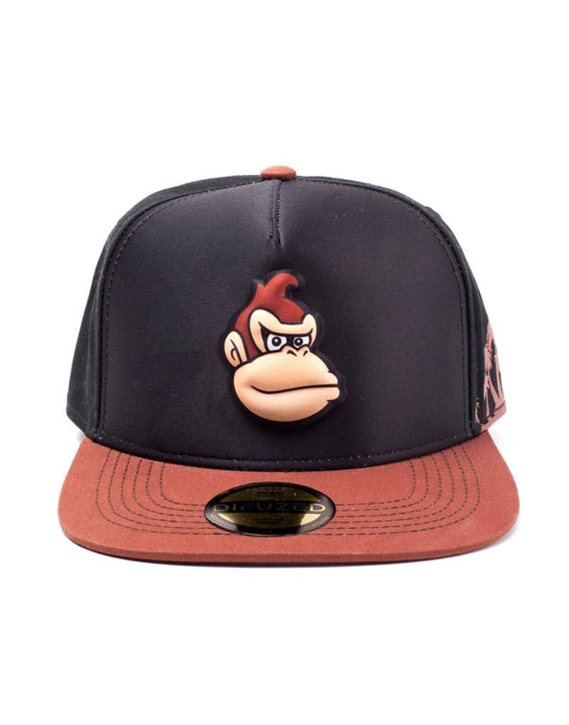 Super Mario - Donkey Kong EVA Molded Screen Print Snapback Cap