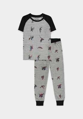 Spider-man - Boys Short Sleeved Pyjama Set