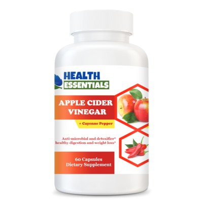 Apple Cider Vinegar + Cayenne Pepper