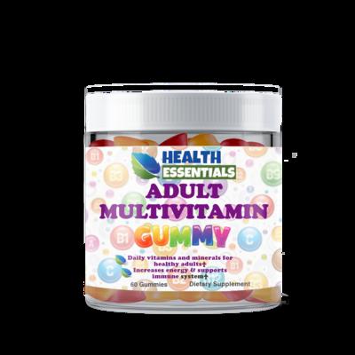 Adult Multivitamin Mixed Flavor Gummies