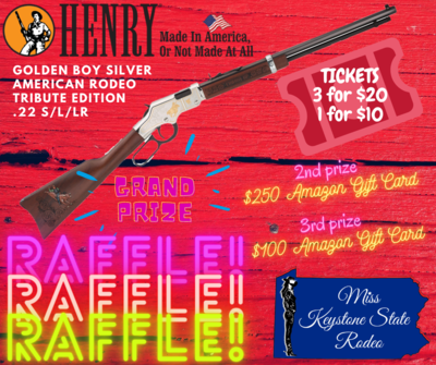MKSR Raffle - 3 tickets