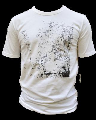 Herren-Shirt:  T-Shirt mit Rollärmeln