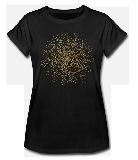 "Lady Shirt ""Kraftblume"" Gold Edition 2021"