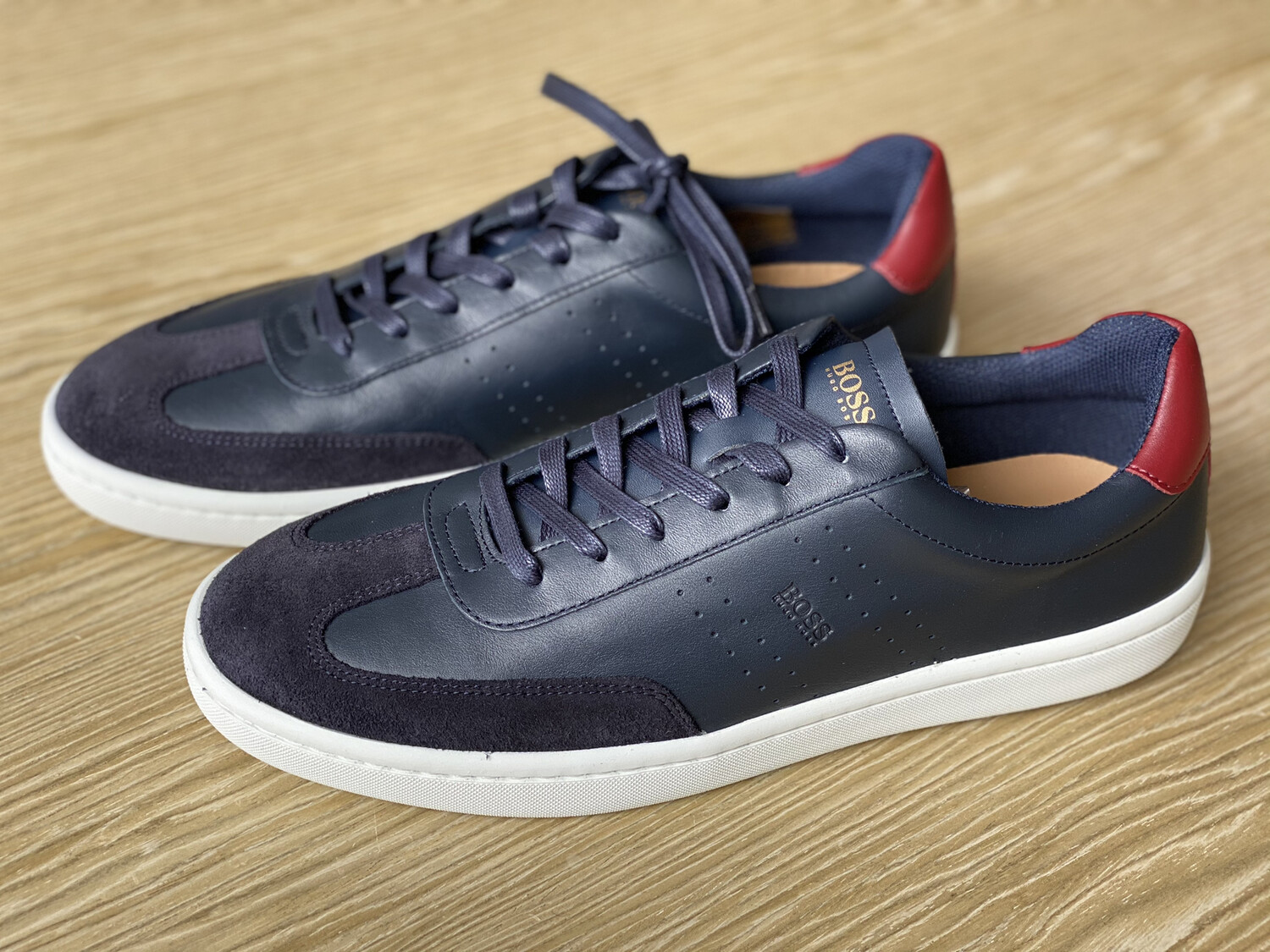 Zapatos Hugo Boss Tennis Style Leather