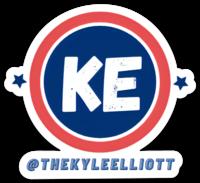 @TheKyleElliott (KE) Sticker