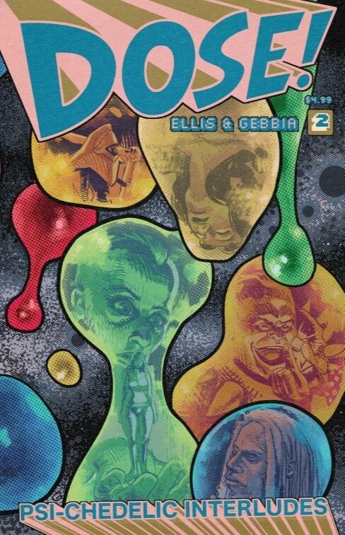 DOSE! #2 Cover A (pre-order, ships November)