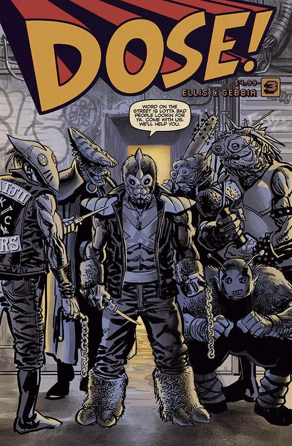 DOSE! #3 Cover B (Pre-Order, ships in July)