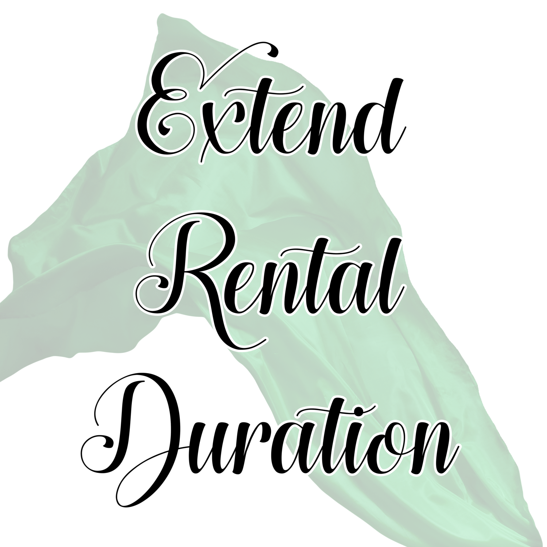 Extend Rental Duration