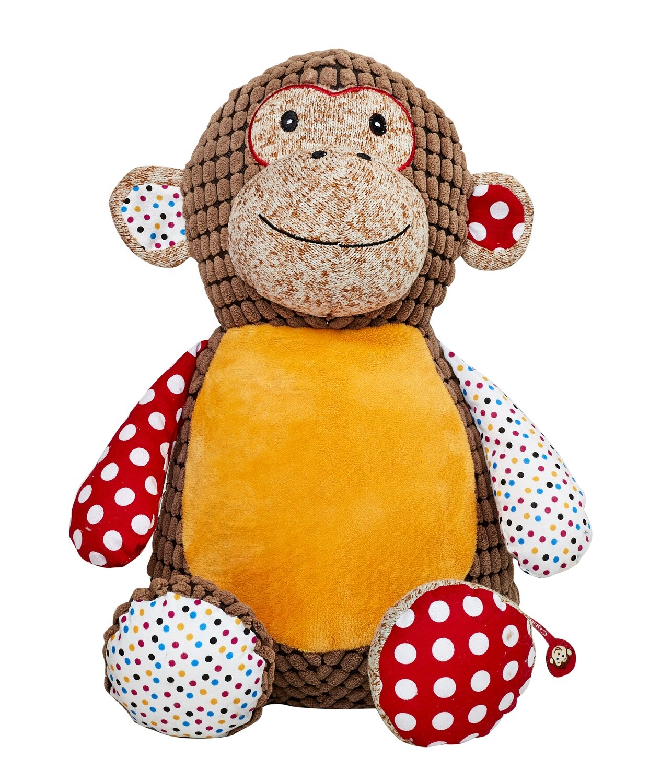 Huggles - Harlequin Brown Monkey