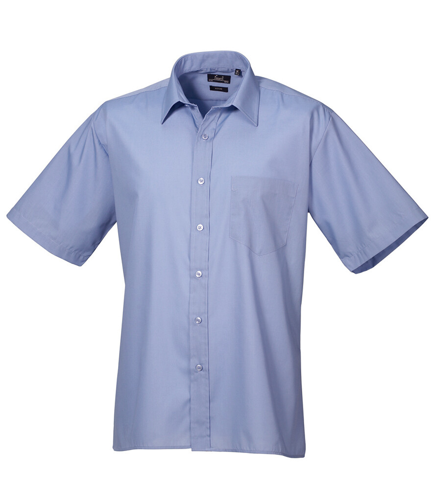 Short Sleeve Poplin Shirt