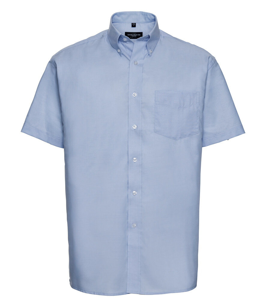 933M Short Sleeve Easy Care Oxford Shirt