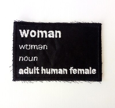Woman definition patch