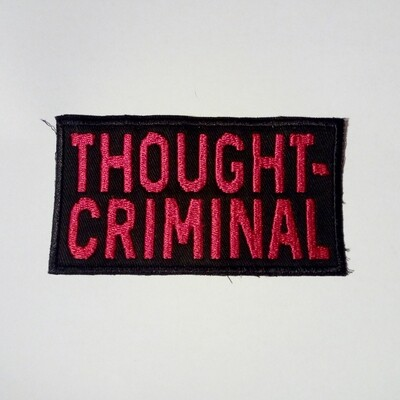 THOUGHTCRIMINAL patch