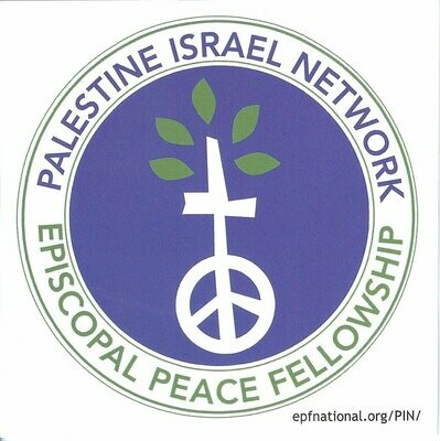 PIN (Palestine Israel Network) Sticker