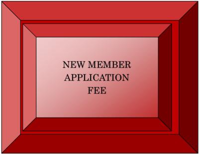 New Member Application Fee
