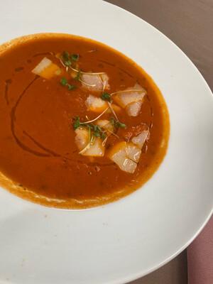 Пряний томатний ( холодний або горячий за побажанням)  250 г