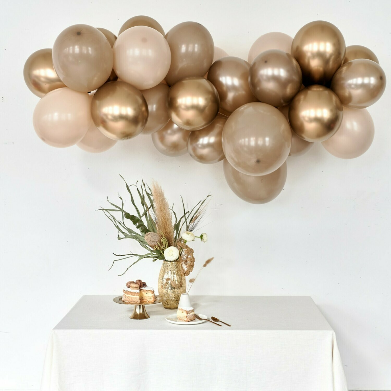 DIY ballonslinger Gold Coast + 10 LACY balloon buddies