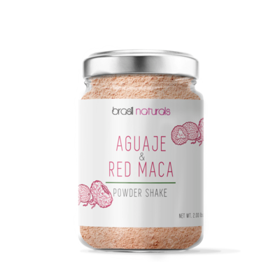 AGUAJE AND RED MACA POWDER