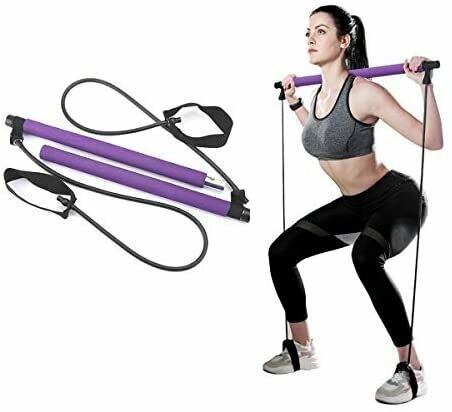 SQUAT BAR WITH TENSION BANDS