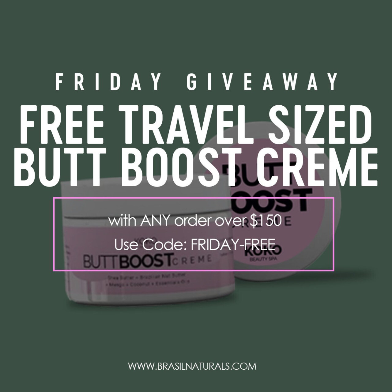 Butt Boost Creme // 2 Week Trial