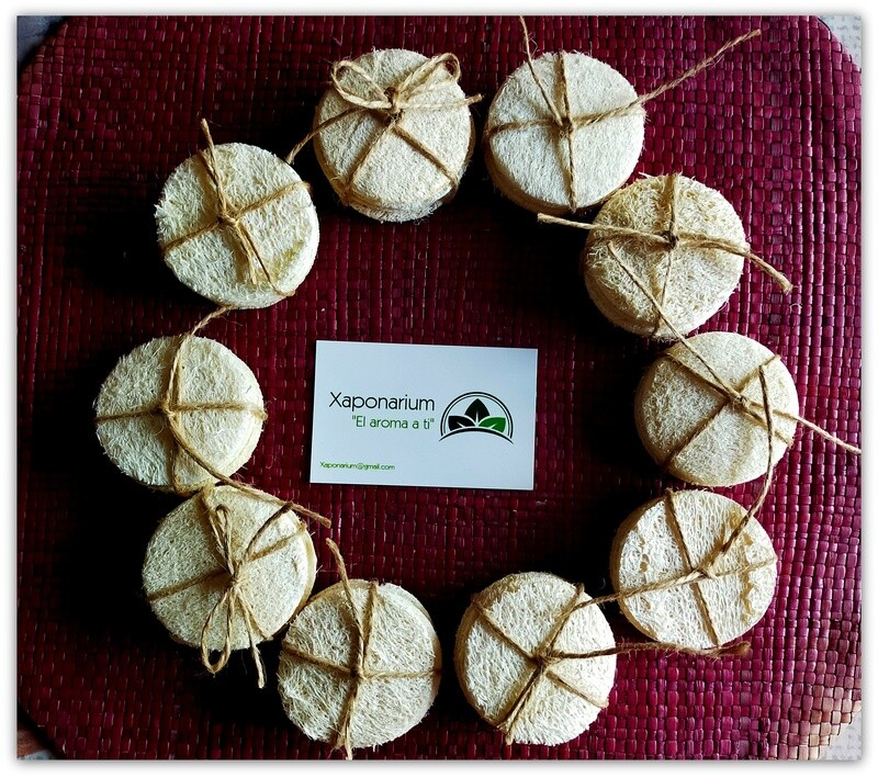 Discos Desmaquillantes Crochet/Lufa