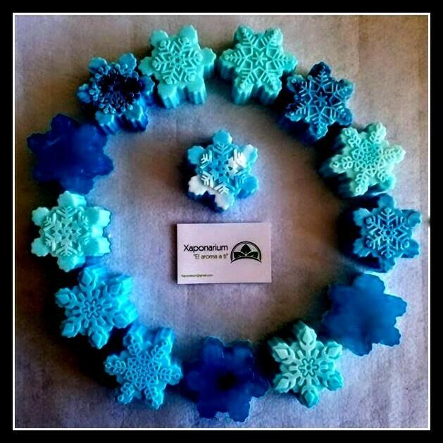 Jabón Copo de Nieve - Temática Frozen