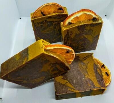 Jabón Chocolate-Naranja