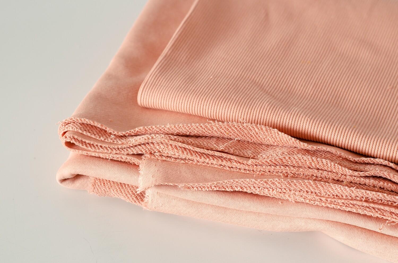 Футер 3-нитка диагональ Пыльно-розовый