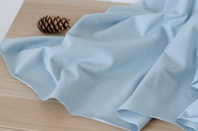 Кулирная гладь с лайкрой плотная Небесно-голубая (Испания)