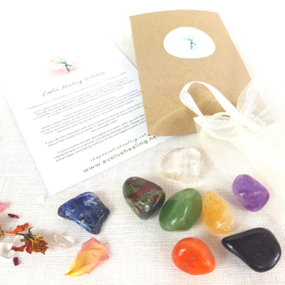 Tumbled Chakra Crystal Set - 8 Piece