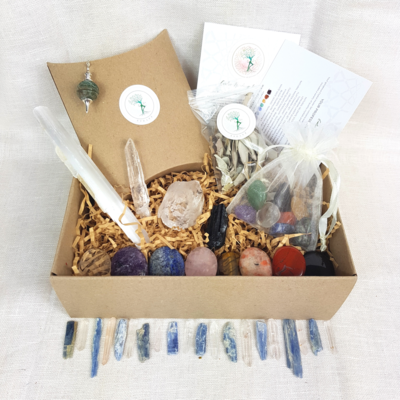 Crystal Healer Set Box - 42 Piece