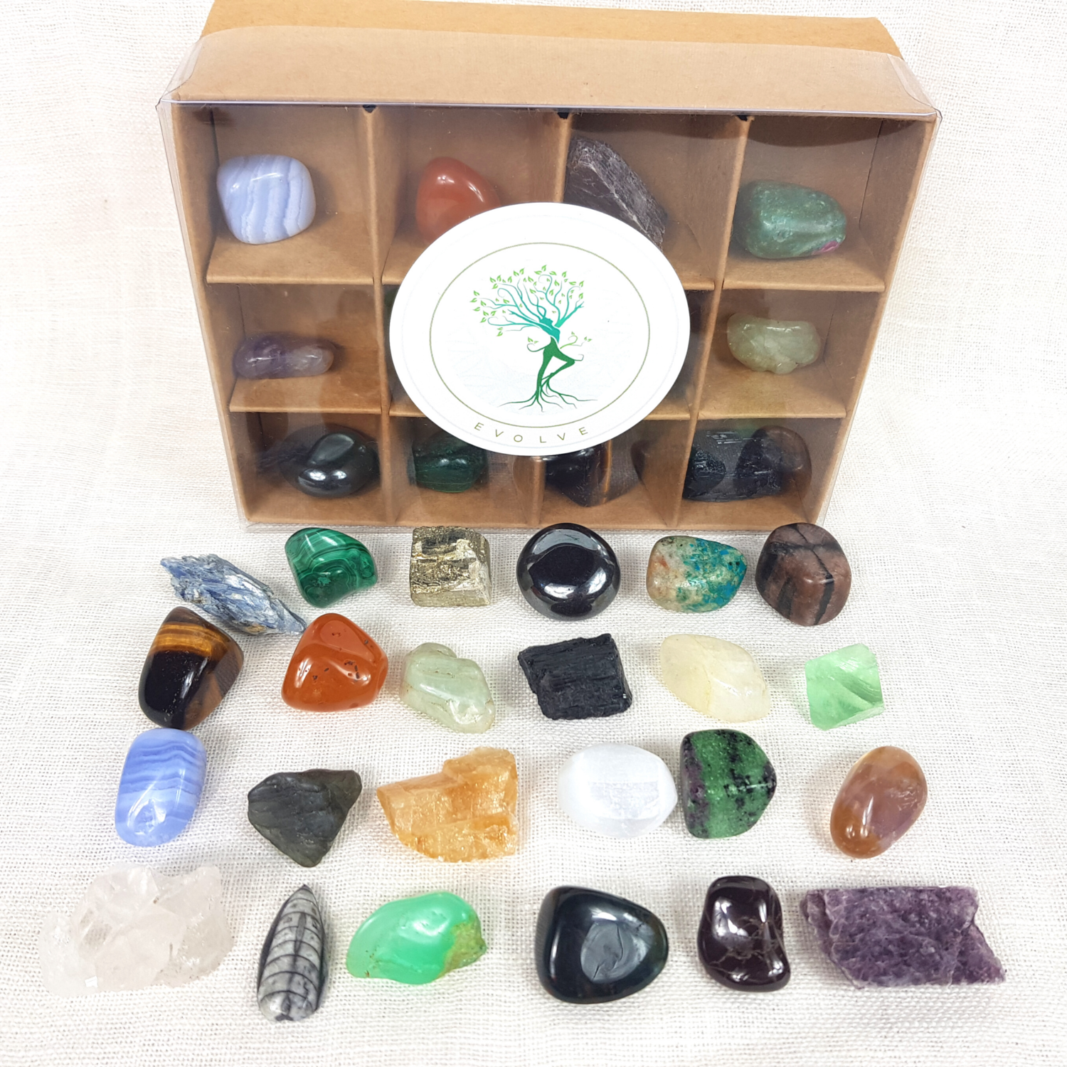 Crystal Healer VIP Collection Set - 24 Piece