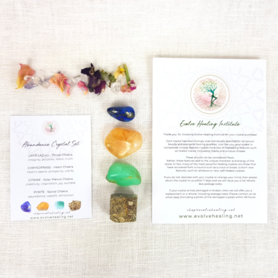 ABUNDANCE:  Attracting Crystal Set