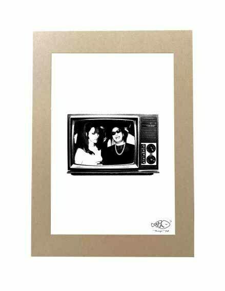 Lebanese TV Kraft Frame