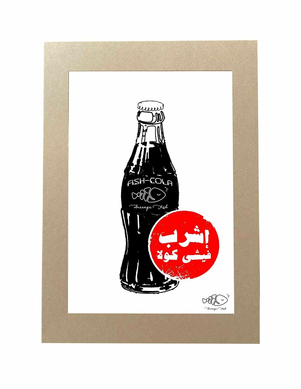 Fish-Cola Kraft Frame