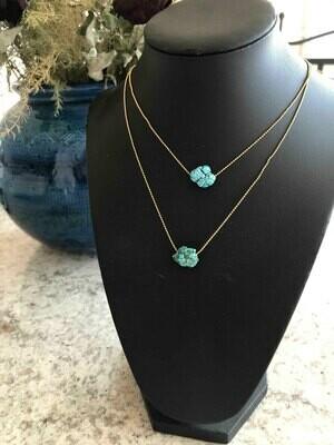 Necklace fairuz pendant