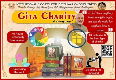 """Gita Charity Ceremony"" Event Booking"