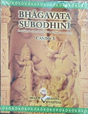 Bhagavata Subodhini Canto 3:English