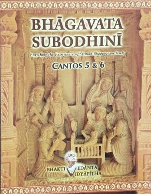Bhagavata  Subodhini Canto 5&6:English