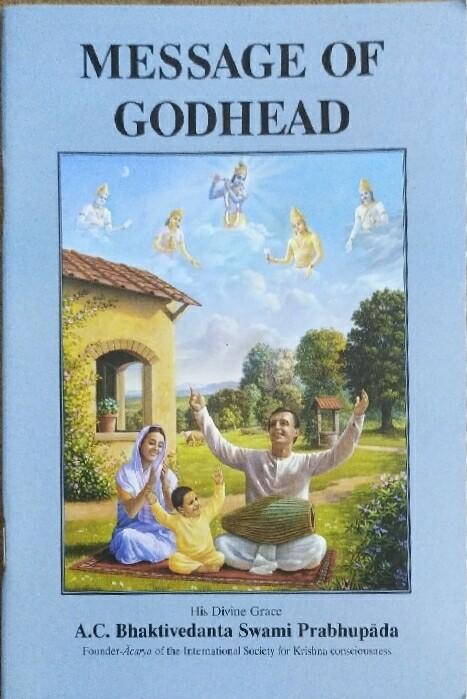 Message of Godhead:ENGLISH