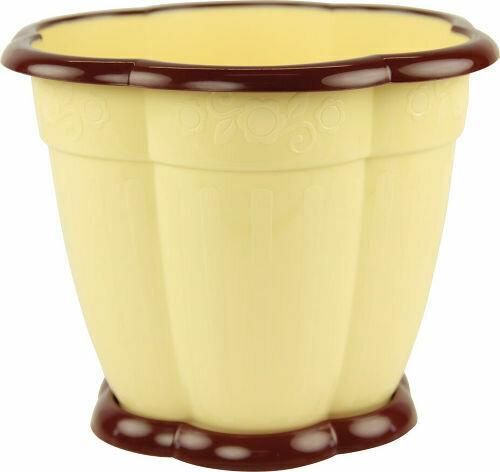 Восторг с поддоном 1,5л светло-желтый (24шт)