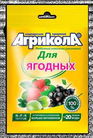 Агрикола №8 для ягодных  50гр (100шт) 04-063 Техно