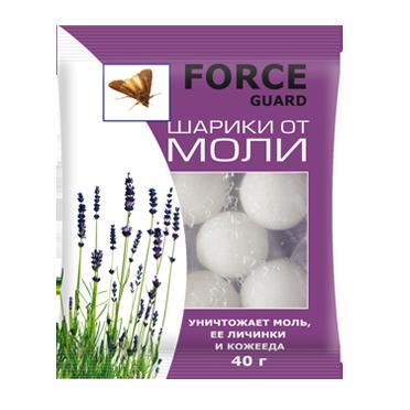 Антимольные шарики FORCE guard (250шт) Дефанс