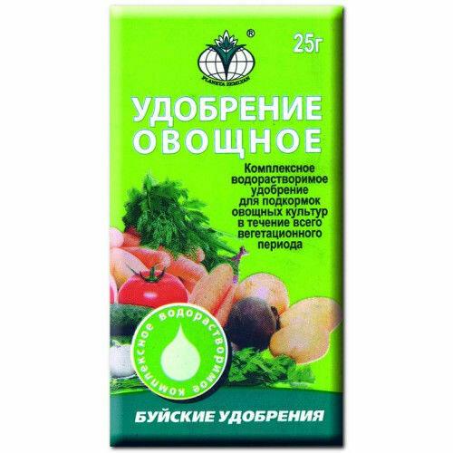 Для овощей Овощное удобр БХЗ 25г (200шт)