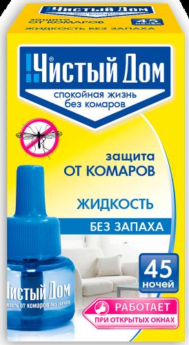 Жидкость Ликвид от комаров (45 ночей) (02-606) (80шт) Техно