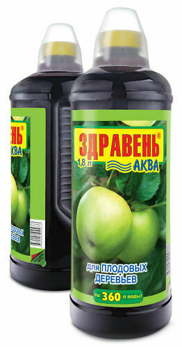 ЖКУ для плод. деревьев Здравень АКВА 1,85л (6шт) ВХ