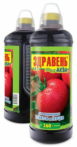 ЖКУ для томатов и перцев Здравень АКВА 1,85л (6шт) ВХ